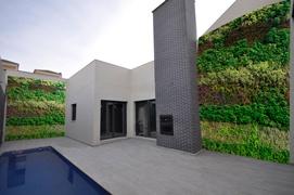Jardin vertical natural exterior