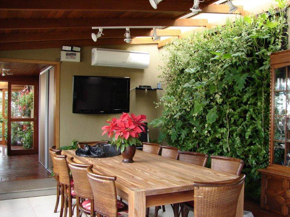 jardin vertical natural interior comedor
