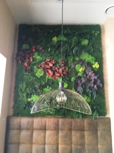 Jardin vertical preservado Restaurante