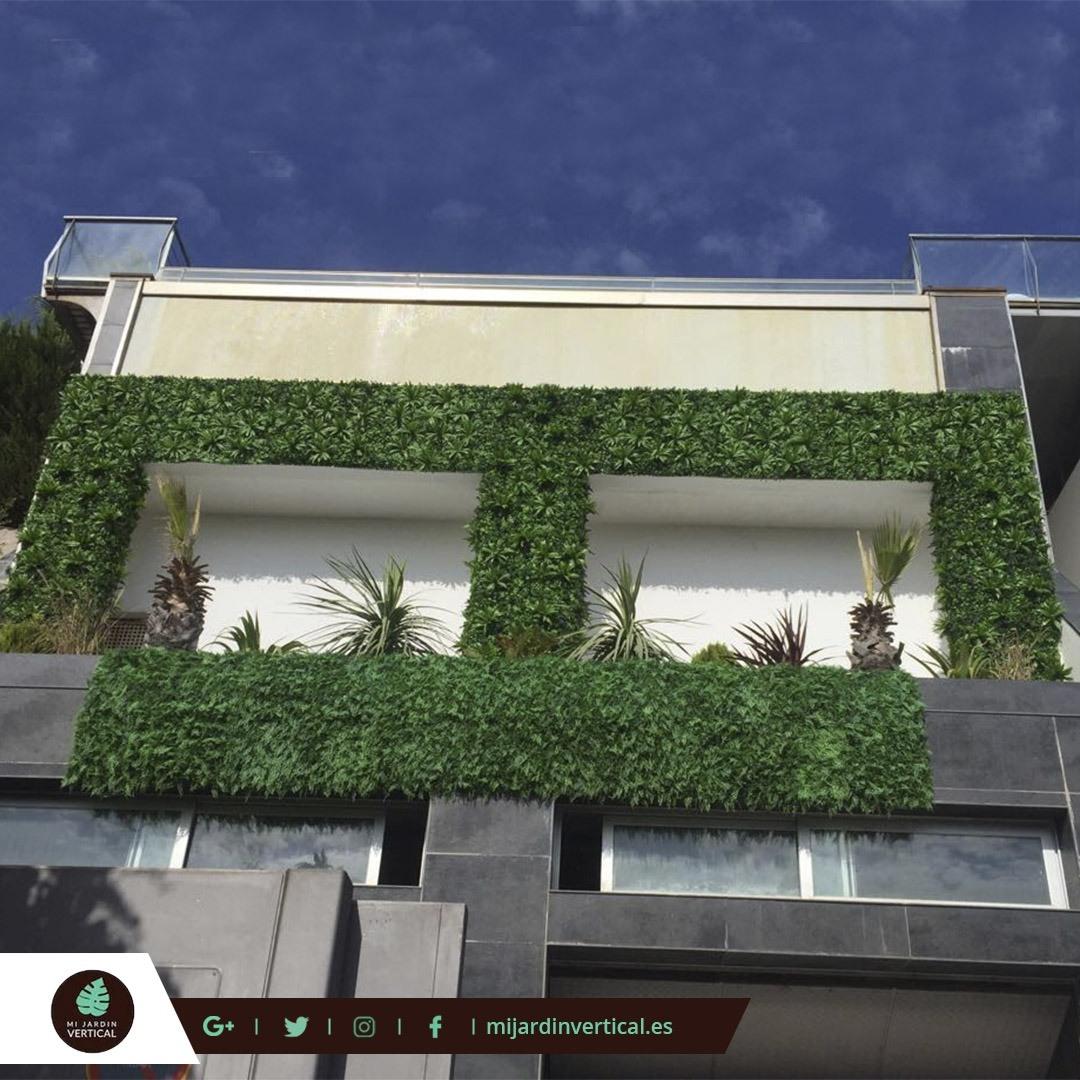 Los jardines verticales m s hermosos del mundo mi jard n for Jardin 911