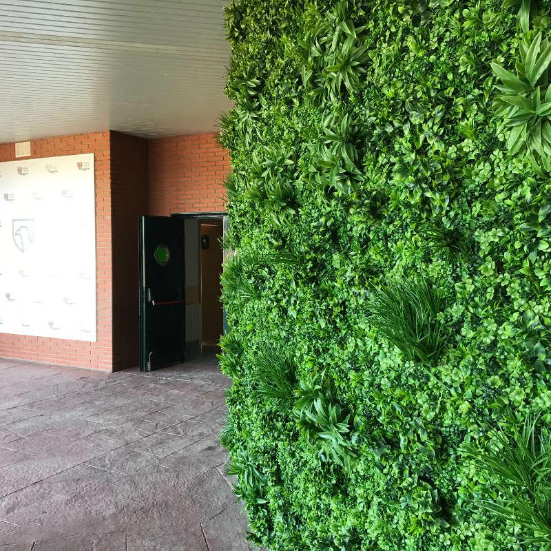 Jardines verticales fachadas