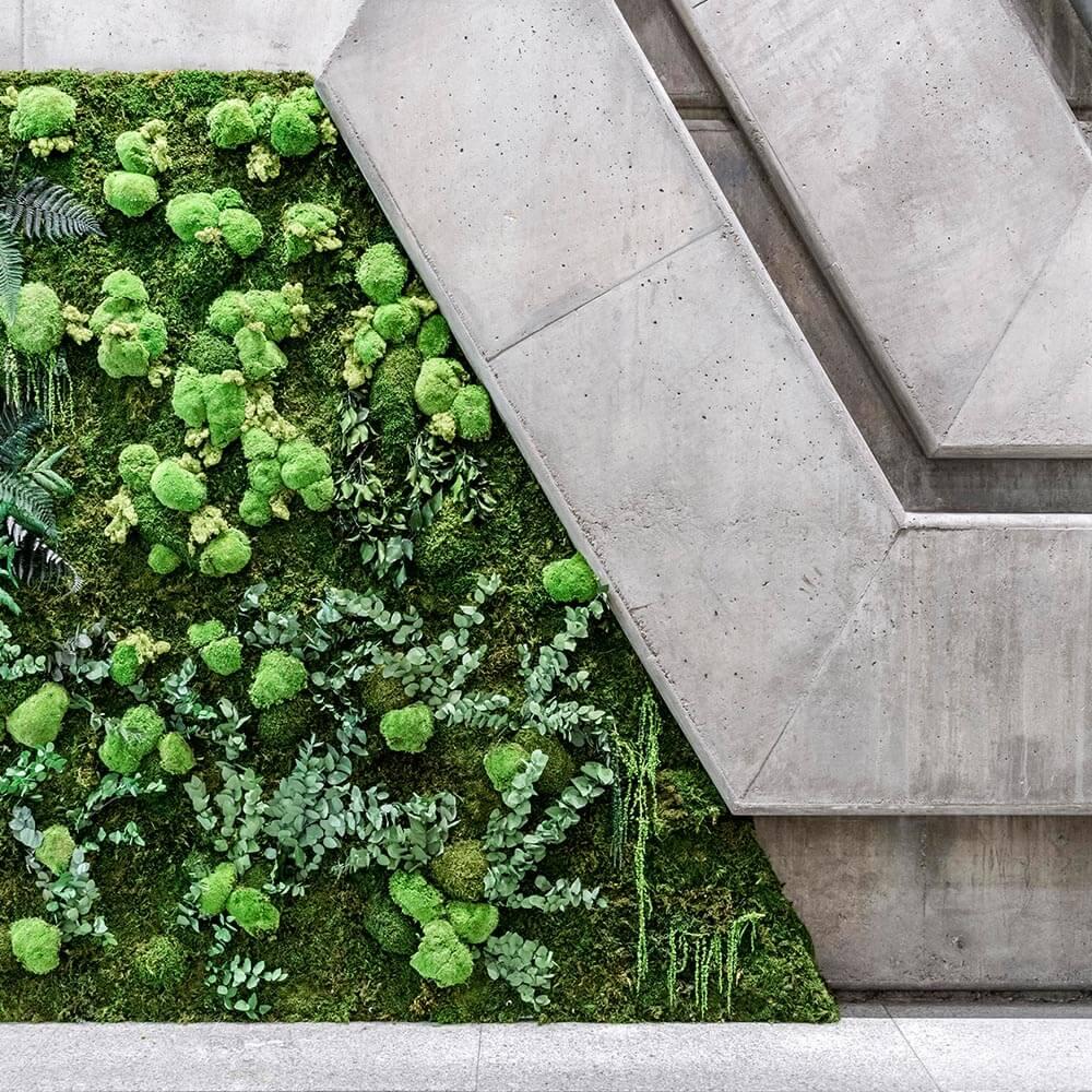 jardin vertical para empresas y locales comerciales