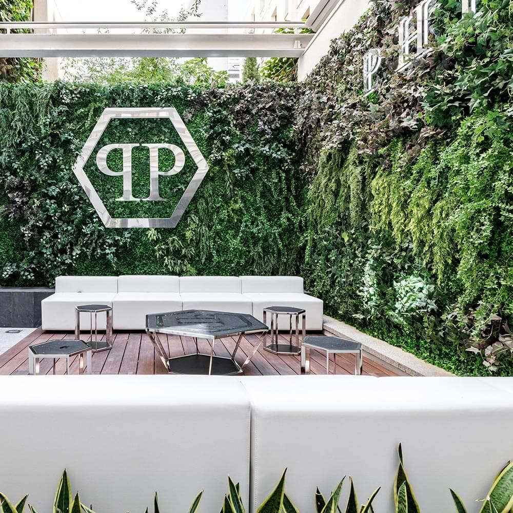 como crear un jardín vertical