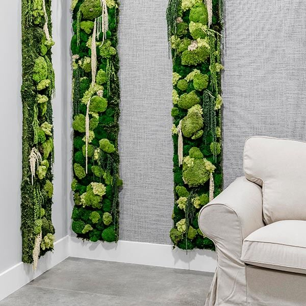jardín vertical interior