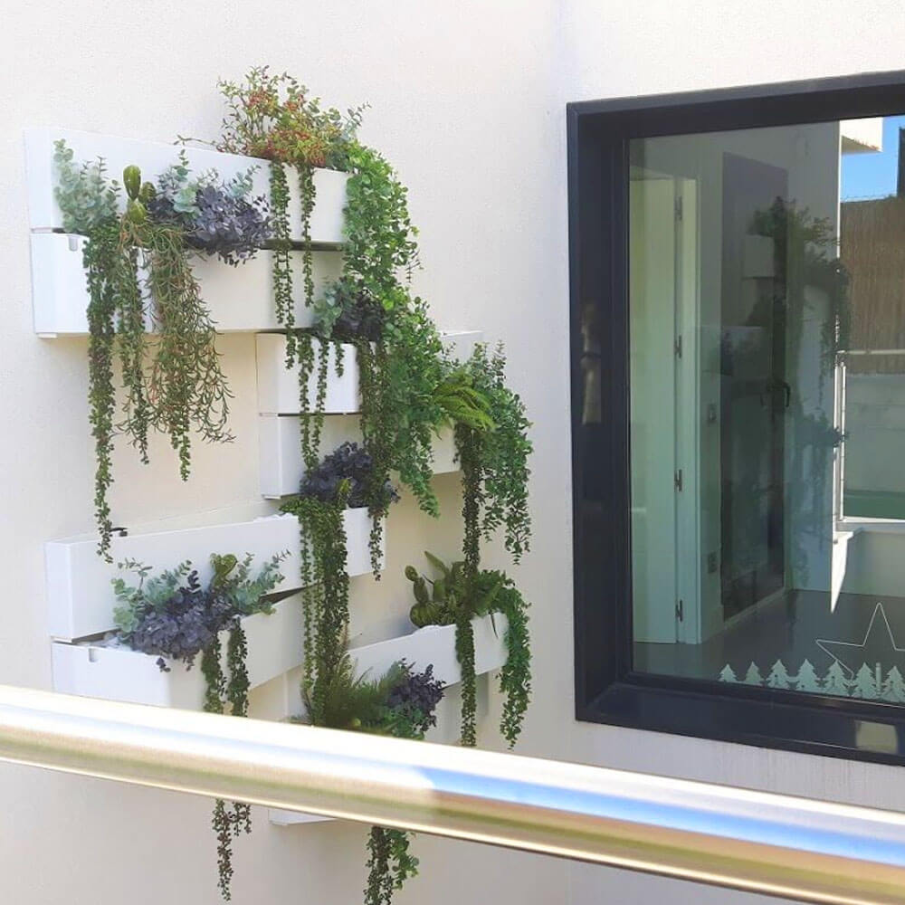 decoración vegetal natural